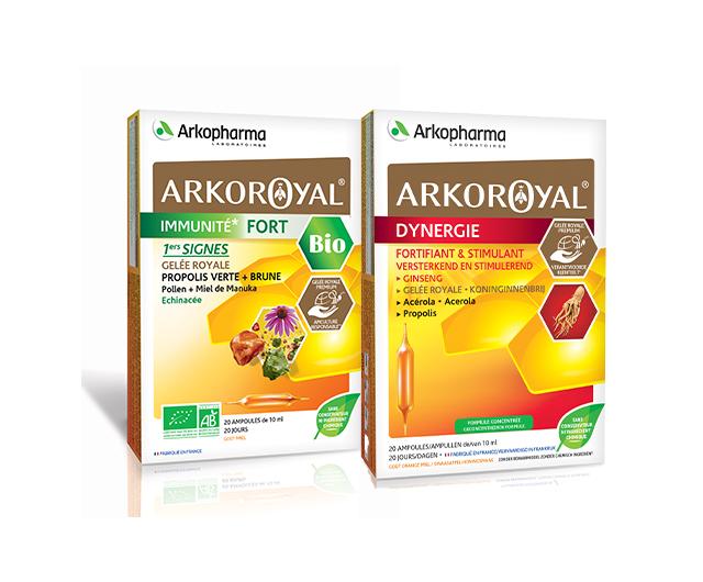 Arkoroyal Dynergie + Arkoroyal® Immunité Fort BIO