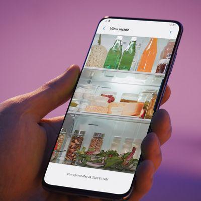La fonction 'View Inside', Samsung