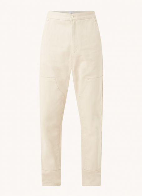 arte-antwerp-pantalon-cargo-coupe-fuselee-porter-avec-poches-laterales