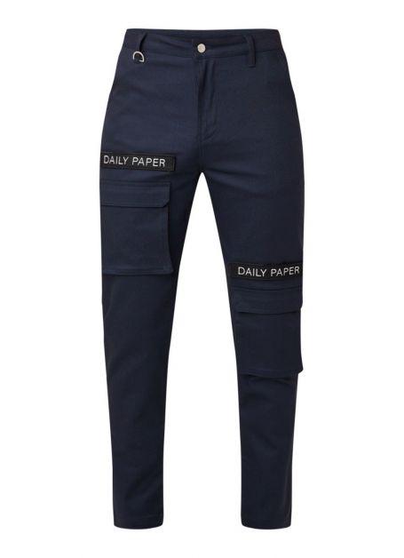 daily-paper-pantalon-cargo-coupe-slim-avec-application-de-la-marque