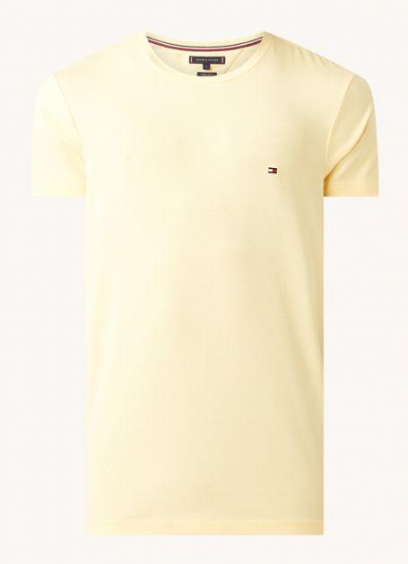 tommy-hilfiger-t-shirt-avec-bordure-logo