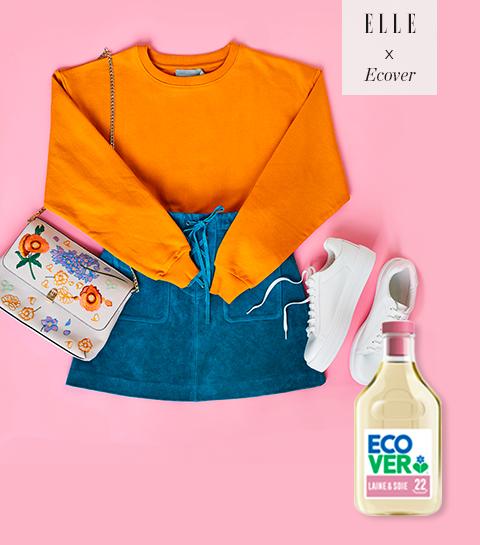 Portez #riendeneuf, gagnez une séance de stylisme à la maison & un pack de détergents Ecover !