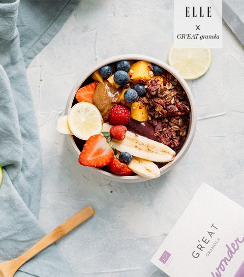 Açaï bowl : les recettes easy & healthy de GR'EAT granola n'ont pas fini de nous faire craquer