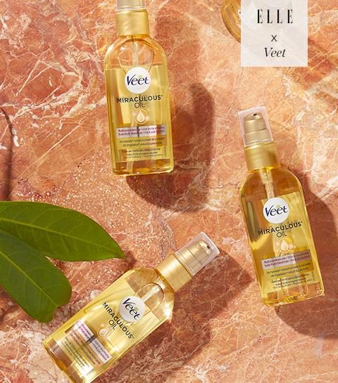 Tentez de remporter l'huile multi-bénéfices Miraculous™ Oil de Veet