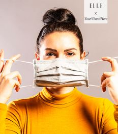 Un masque à personnaliser, imprimé en Belgique