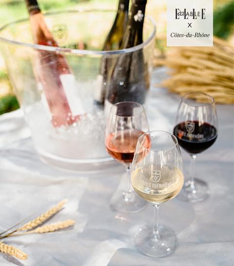 Participez à notre concours et découvrez les vins Côte du Rhône grâce à un atelier digital