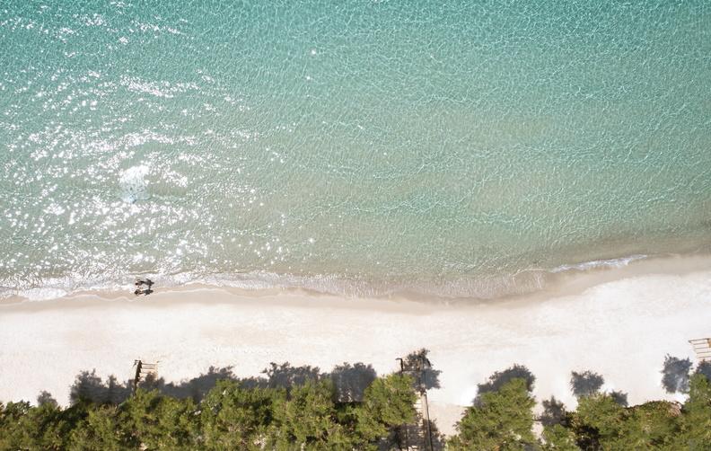 sani resort plage