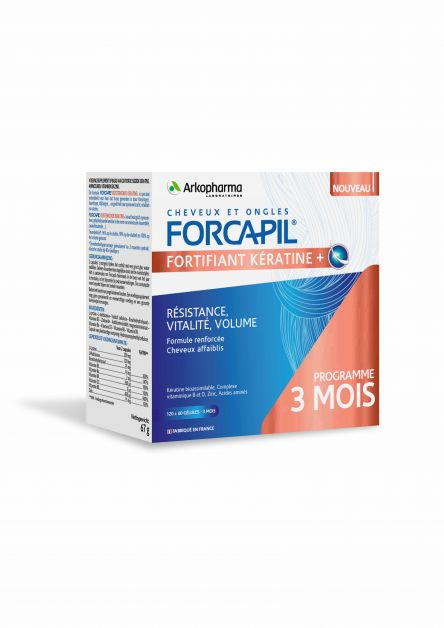 Forcapil Fortifiant Kératine +
