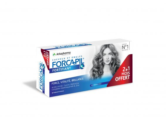Forcapil fortifiant 3 mois