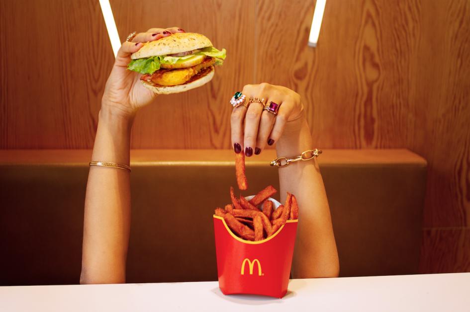 McDonald's ELLE Mc Louise et Sweet Potatoes