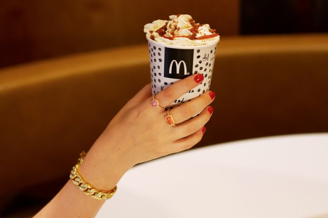 Speculoos Latte Deluxe de McDonald's