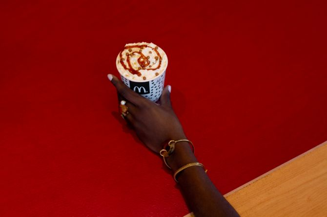 Caramel Latte Deluxe de McDonald's