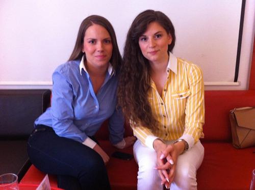 Ana Burica et Josipa Majic