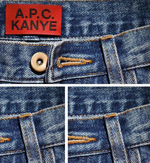 A.P.C x Kanye West