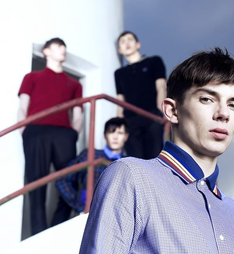 Fred Perry X Raf Simons : Mods et travaux