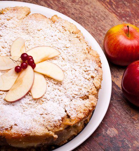Le cake aux pommes de marraine Jeanne