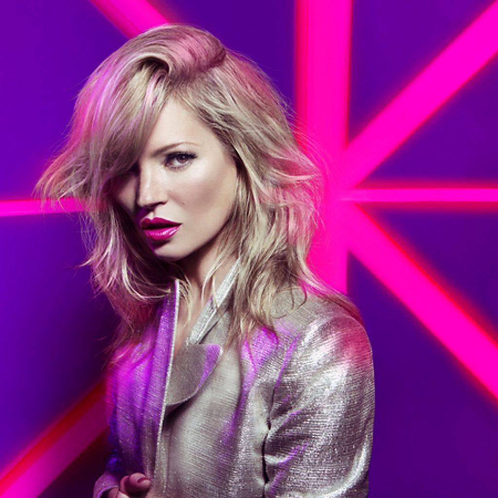 la modelo británica kate moss en el anuncio de rimmel london apocalips.