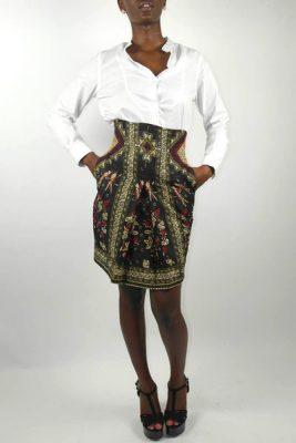 Jupe taille haute Kutowa Designs chez Sapellé 36,68€