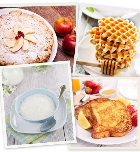 4 desserts de grand-mère avec trois fois rien