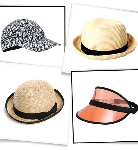 10 chapeaux qu'on adore porter en été