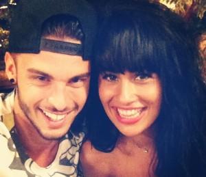 Baptiste Giabiconi et Sarah