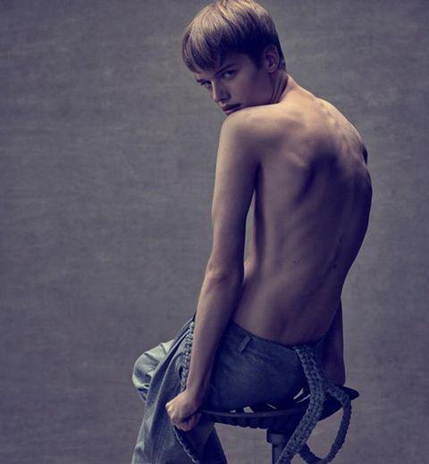 Maarten, le nouveau mannequin belge dont tout le monde parle