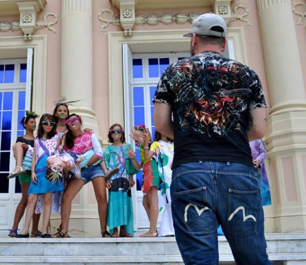 Le workshop spécial enfant de Jean-Paul Lespagnard à Monaco