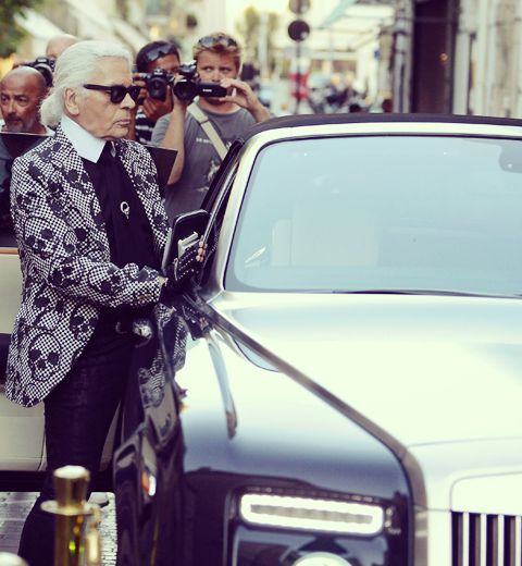 Karl Lagerfeld s'installe en Belgique