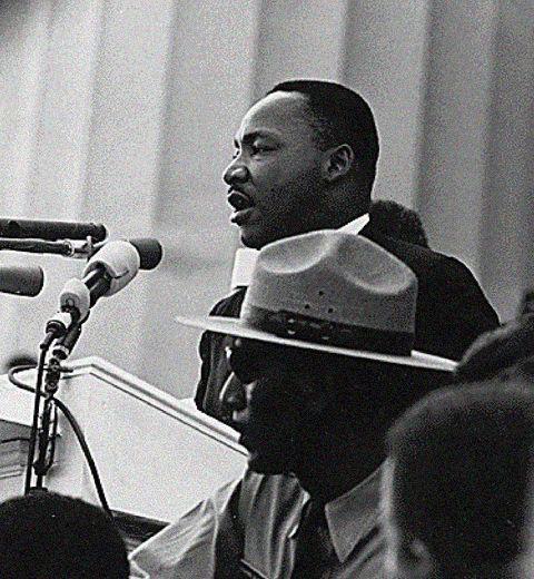 Le rêve de Martin Luther King il y a 50 ans