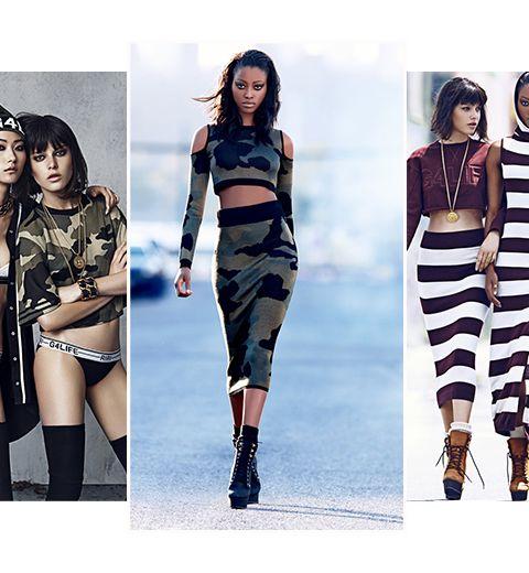 Les images de la collection automne Rihanna for River Island