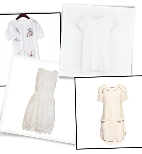 10 robes blanches qui prolongent l'été à moins de 50€