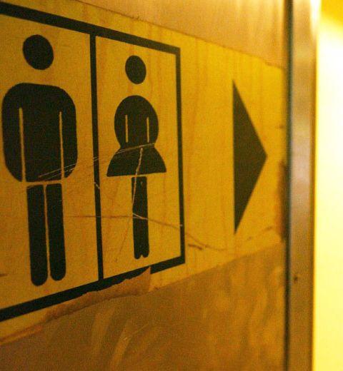 Rencontrez votre âme-soeur dans les toilettes