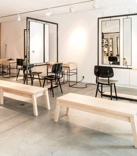 Le tout nouveau salon d'Adrien Coelho