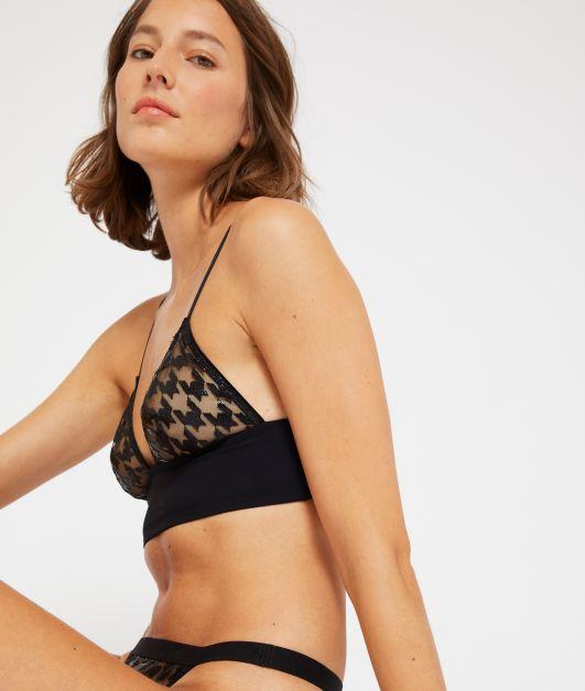 Soutien-gorge triangle lingerie