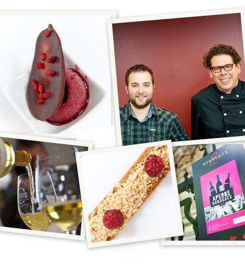 L'apéro afterwork Belgium loves chocolate et Bordeaux