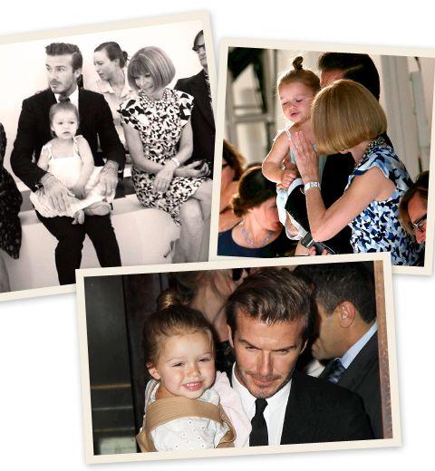 Harper Beckham fait le show à la fashion week de NY