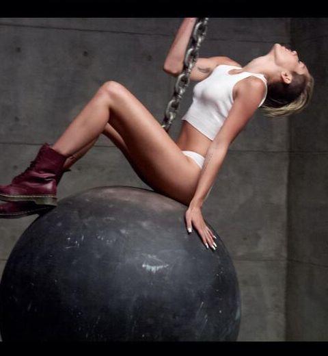 Miley Cyrus entièrement nue dans son nouveau clip