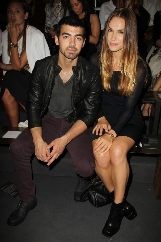 diesel black gold show during spring 2014 mercedes-benz fashion week - front row