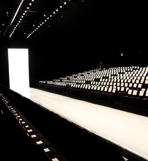 Le final du défilé Marc by Marc Jacobs vu de notre place