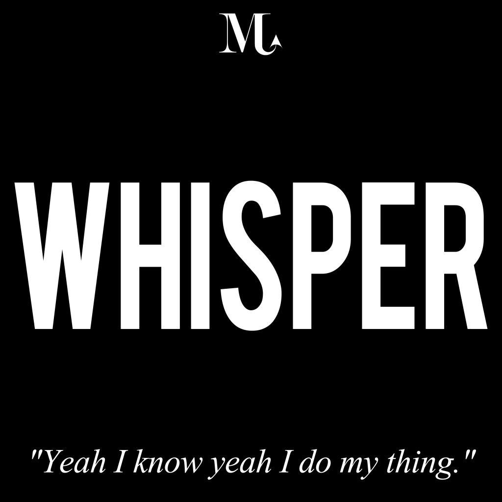 PROMO TRACK WHISPER BLACK