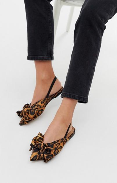 ballerines léopard