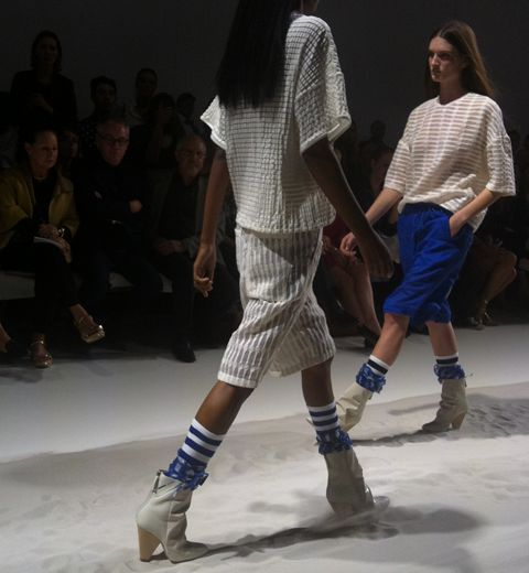Repérées à Paris: les socks de sport
