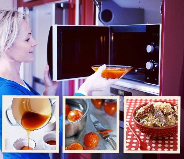 cuisiner au micro ondes 10 astuces rapides. Black Bedroom Furniture Sets. Home Design Ideas
