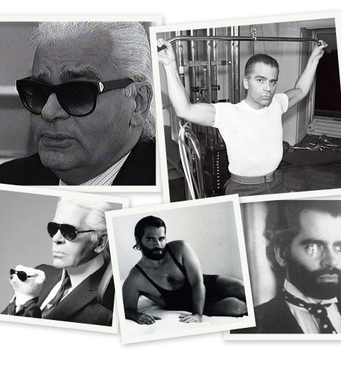 Les neuf vies de Karl Lagerfeld en images