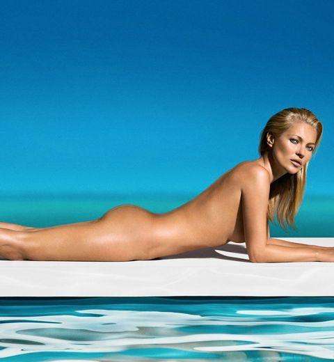 Pour ses 40 ans, Kate Moss pose nue en couverture de playboy