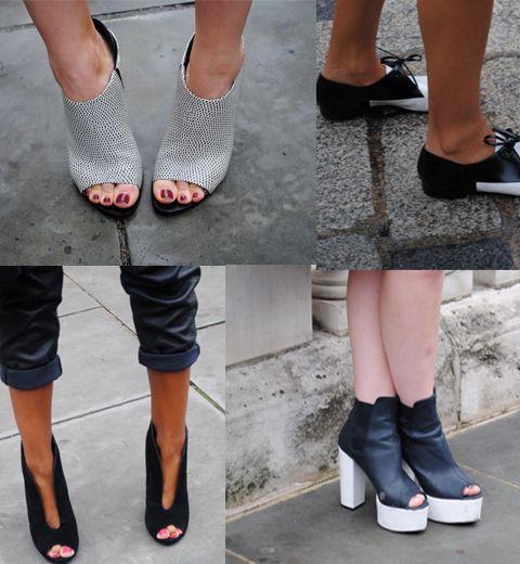 Londres vue du sol : streetstyle chaussures
