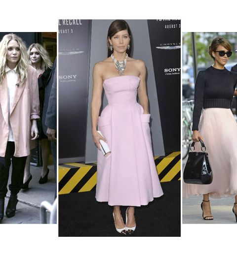 Le look rose en l'honneur de Pink Ribbon