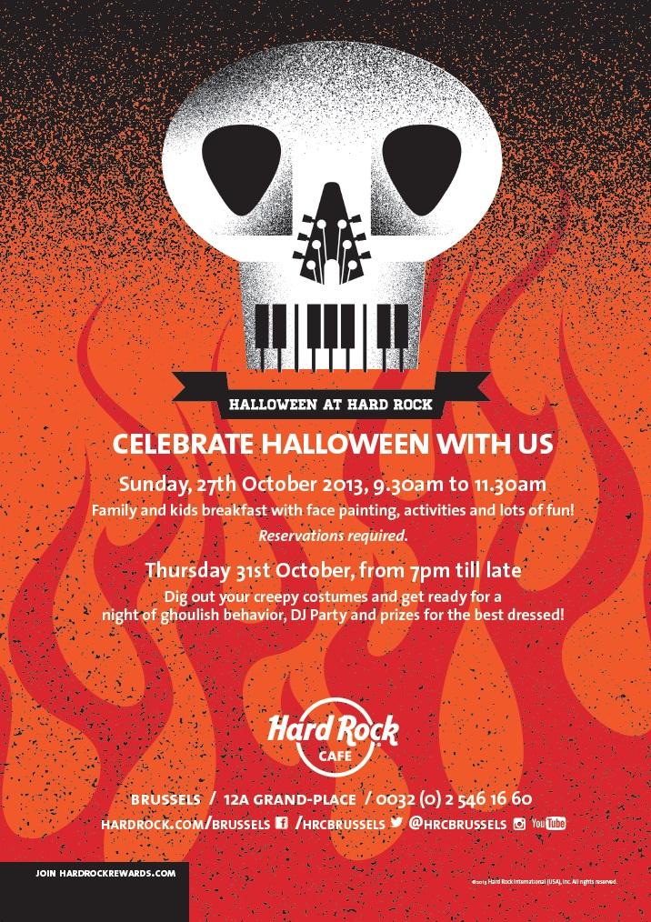 Halloween at Hard Rock Cafe