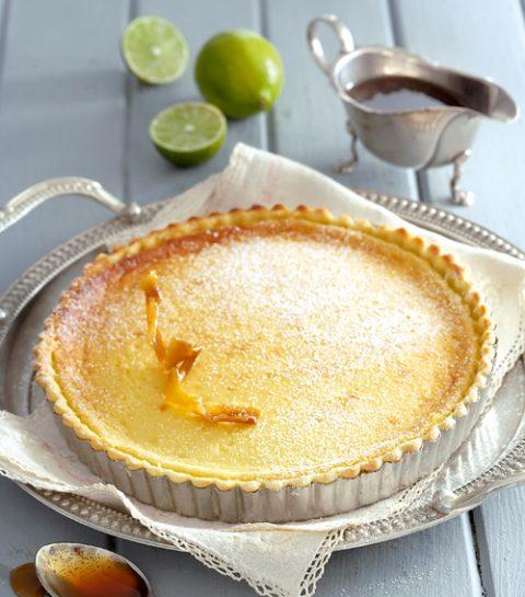 La tarte au citron et spéculoos