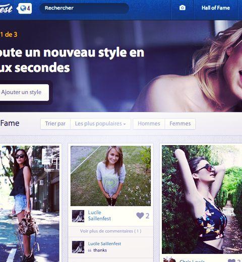 Famest, le réseau social pour nos fringues